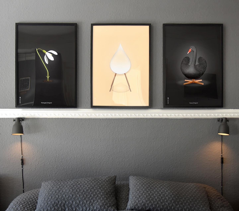 De 3 Nye Originaler Kan Du Bedst Lide Vintergaekken Draben Eller Svanen Brainchildoriginal Danskemo In 2020 Bathroom Mirror Bathroom Lighting Home Decor