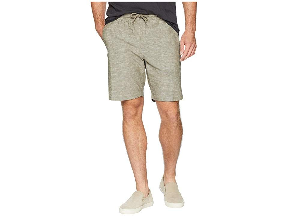 Rip Curl Kenley Walkshorts Green Mens Shorts Dont let anything get in your way when you wear the Rip Curl Kenley Walkshorts Cotton fabrication features a hint of stretch...