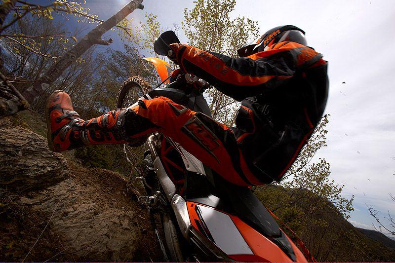 Really like riding rocky, technical terrain.
