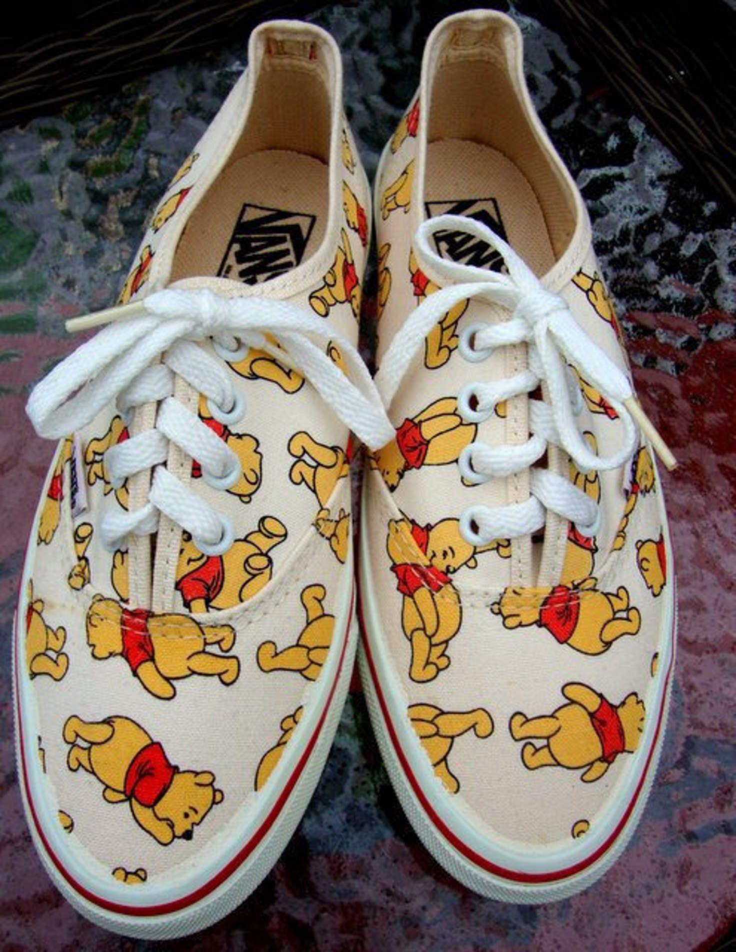 winnie the pooh vans size 8
