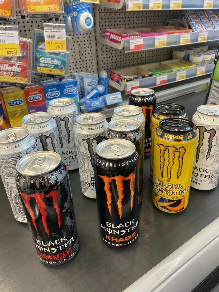 White Monster Energy Meme