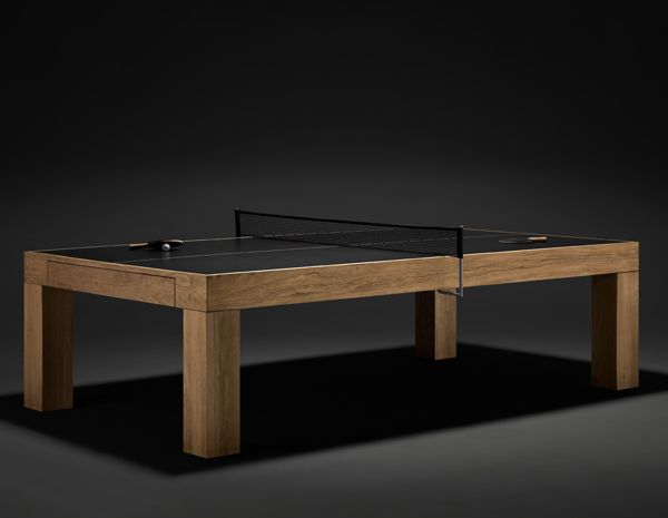 James Perse Ping Pong Table   Finally, A Ping Pong Table Thatu0027s Not A  Complete Eyesore! Plus, If You Add In The Optional Teak Table Top It Turns  Into A Nice ...
