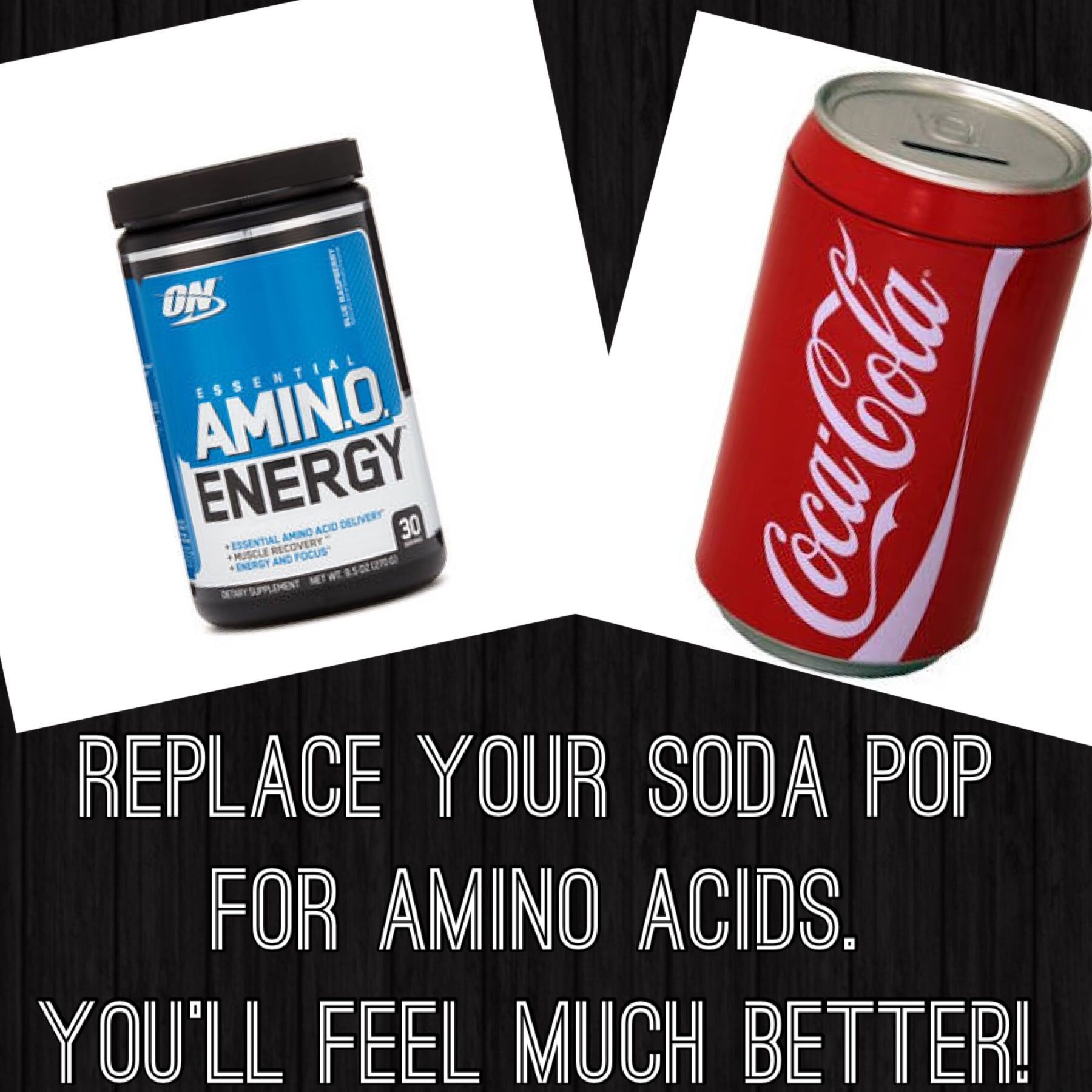 Quit Drinking Pop By Replacing It With Amino Acids! Your