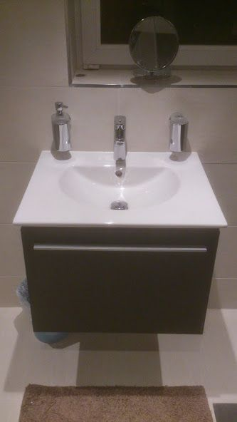 Duravit Darling New 630mm. Furniture Basin On X Large Single Drawer Unit.