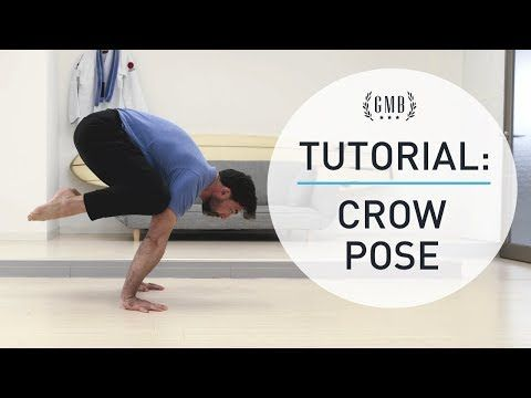 the crow pose is a great exercise for beginners that'll