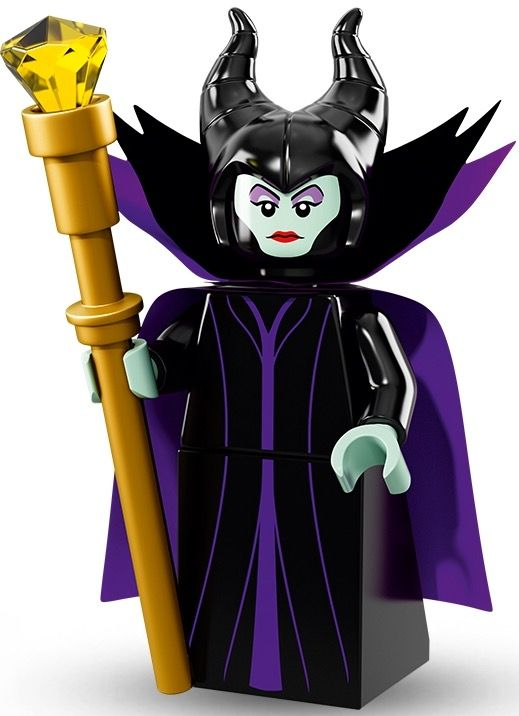 Lego Maleficent Minifigure 71012 Lego Mini...