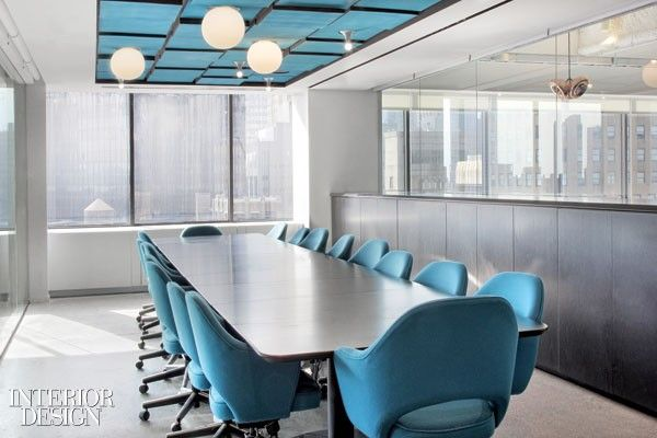 Office conference room interior design also love this blue rh pinterest