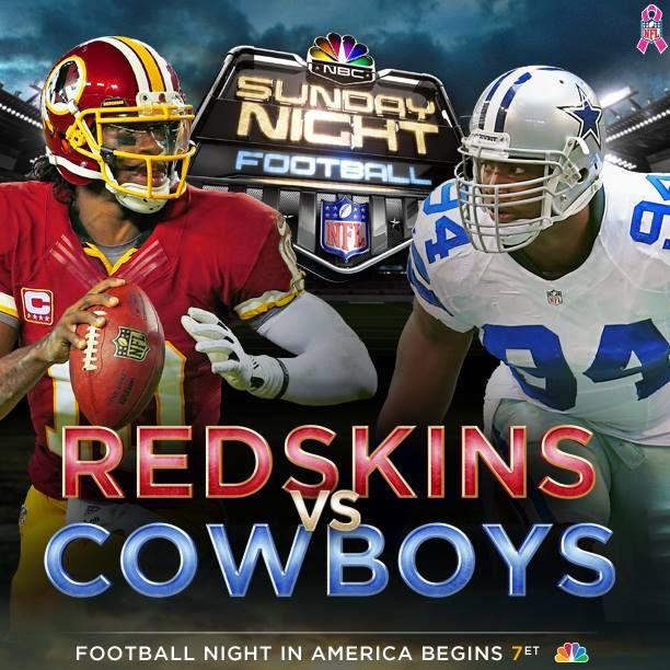 930ca8f2 Dallas Cowboys VS Washington Redskins Live Stream Online NFL Regular ...