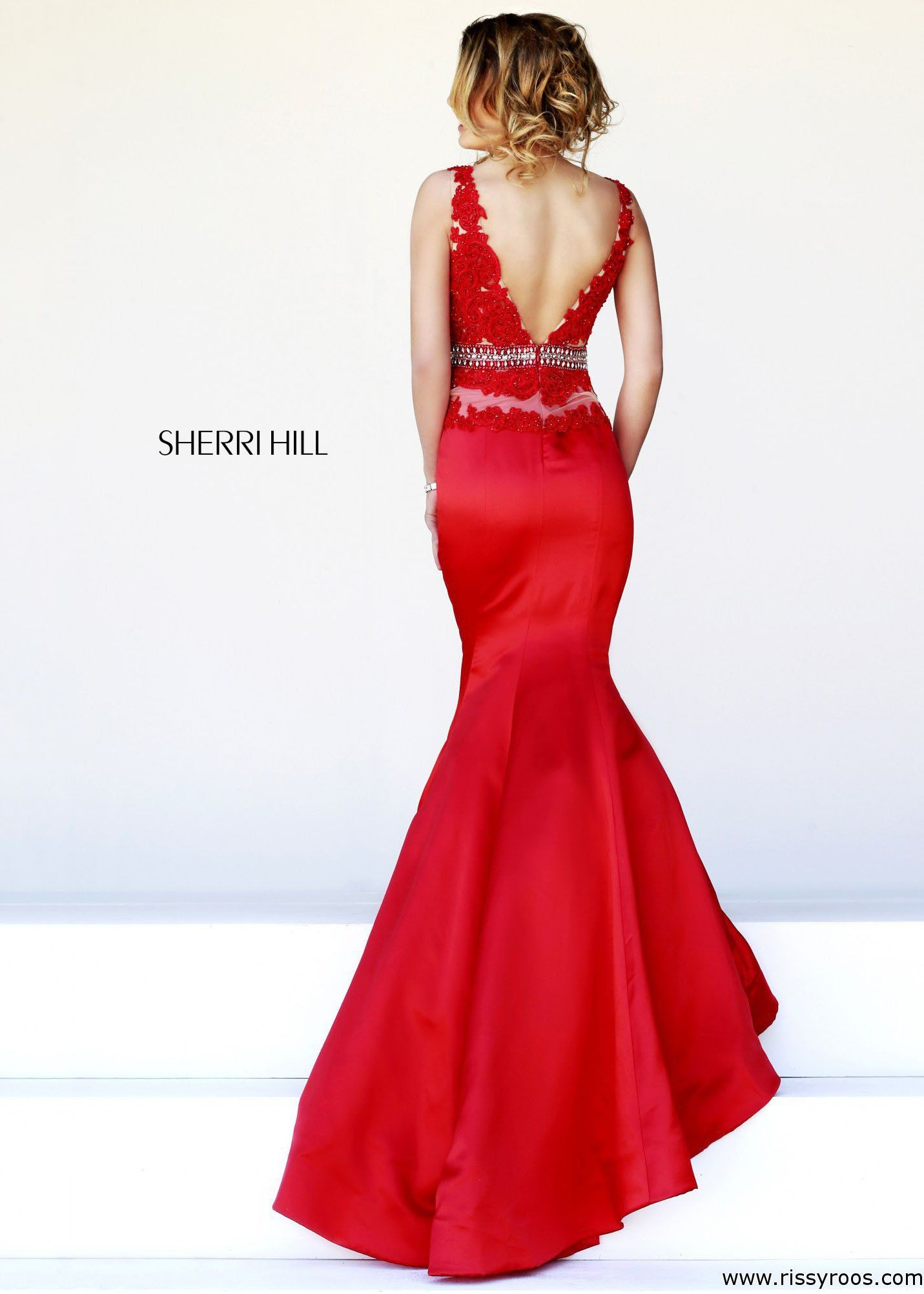 Sherri hill sexy mermaid gown crushingonrissyroos rissyroos