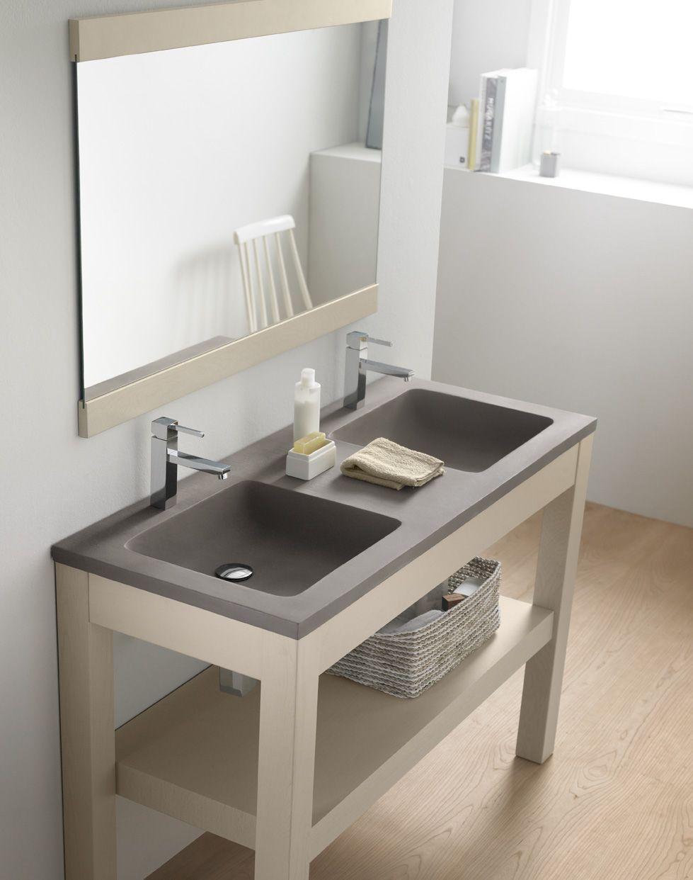 Potes, lavabo de cemento, Cement & Terrazzo, Natural Series by ...
