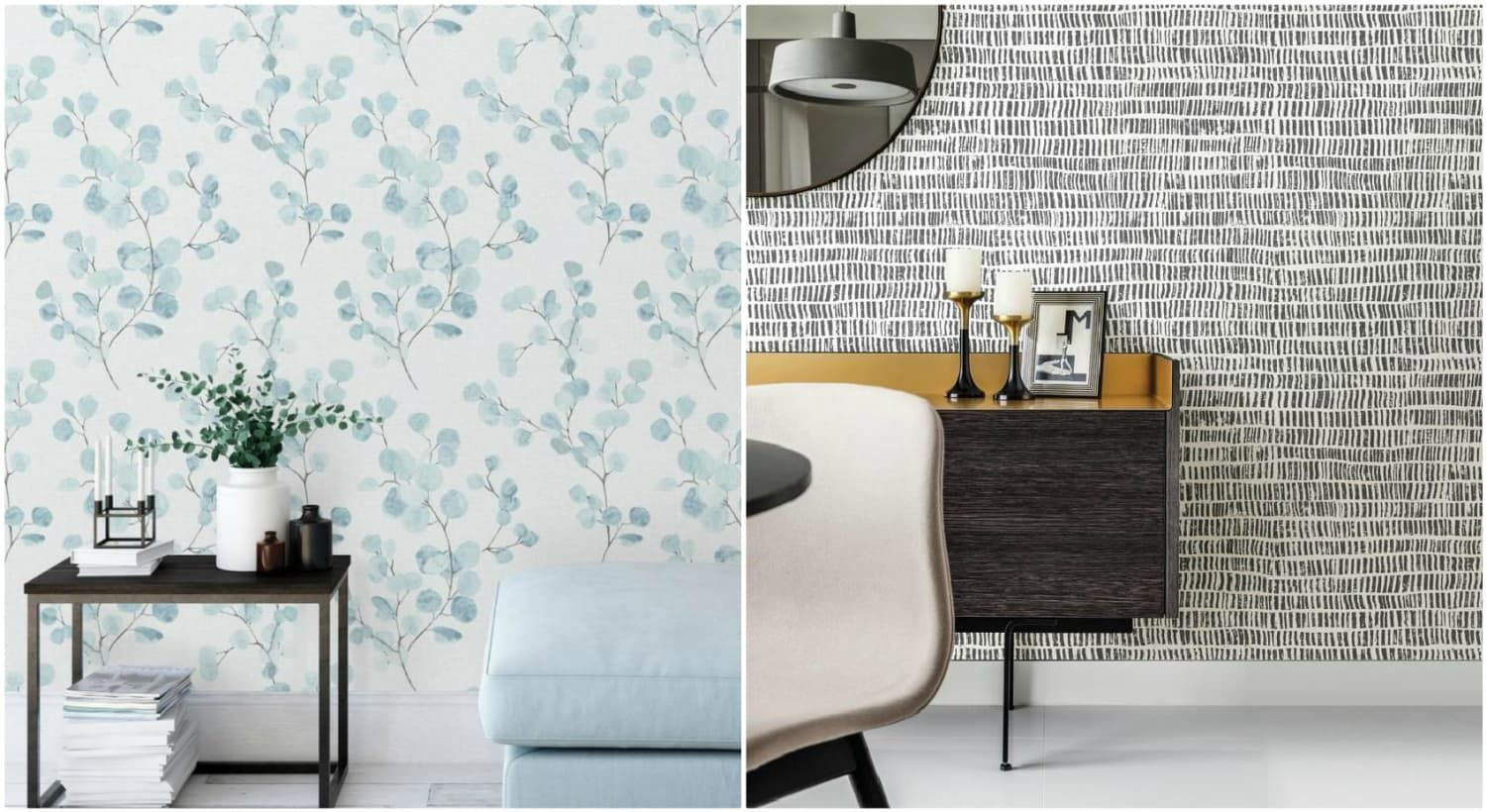 The Property Brothers Launched Peel And Stick Wallpaper And It S Time To Redecorate Peel And Stick Wallpaper Redecorating Peel N Stick Wallpaper