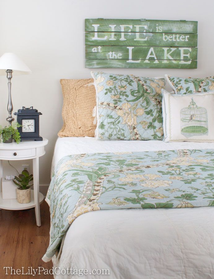 Guest Room Decor And Accessories The Lilypad Cottage Lakehouse Bedroom Guest Room Decor Home Bedroom