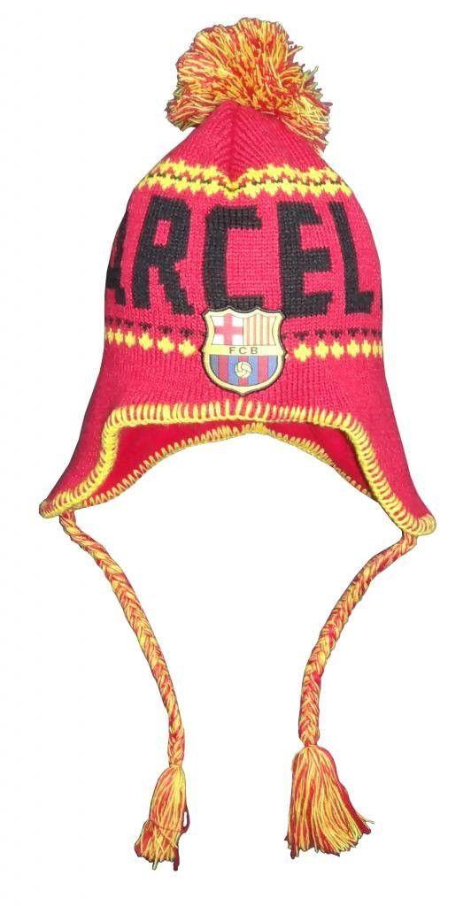 0d308b6e235 FC Barcelona Peruvian Beanie (Maroon)
