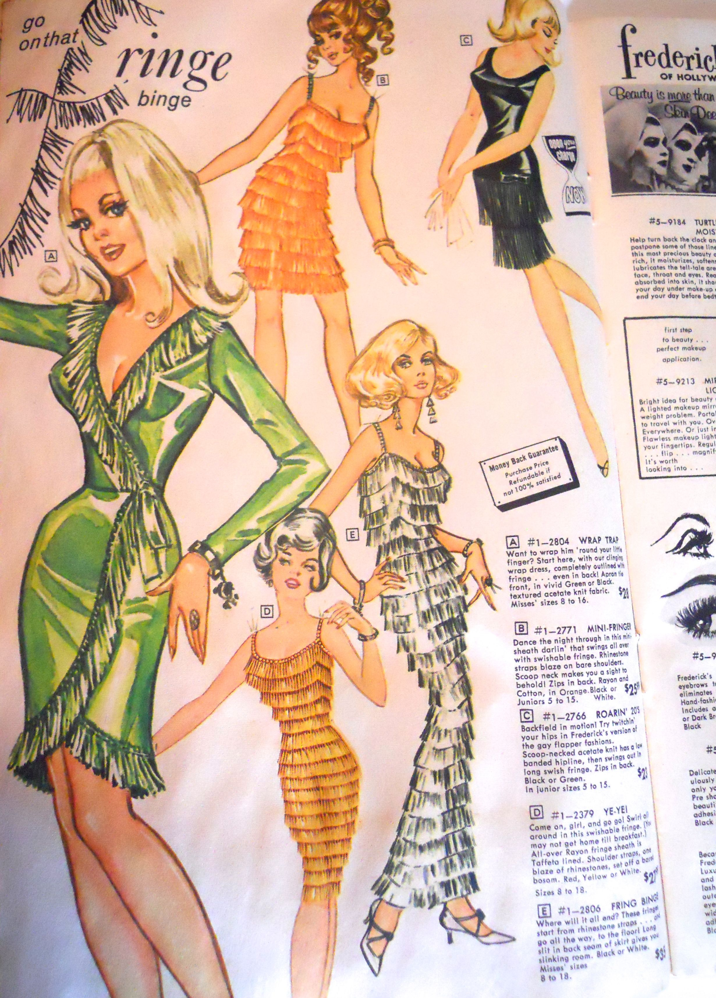 Pin By Dorothea S Closet Vintage On Hubba Fredericks Of Hollywood Vintage Outfits 60s And 70s Fashion