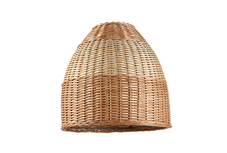 Lámpara De Mimbre Artesanía Chimbarongo