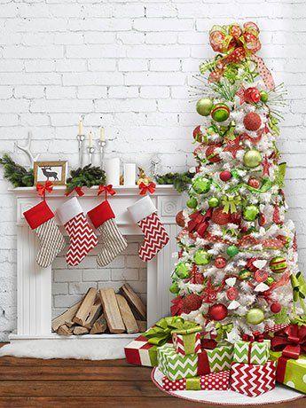 Whimsical Christmas Backdrop Brand New for 2017 Christmas Season - l küche mit elektrogeräten
