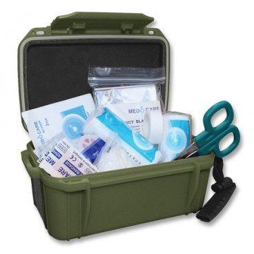Kit De Primeros Auxilios Camping Impermeable Mil Tec