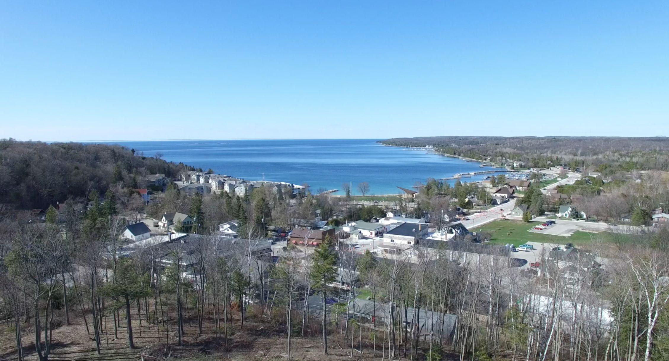 Pin By David Kaster On Ilovedoorcounty Com Harbor View Sister Bay Views