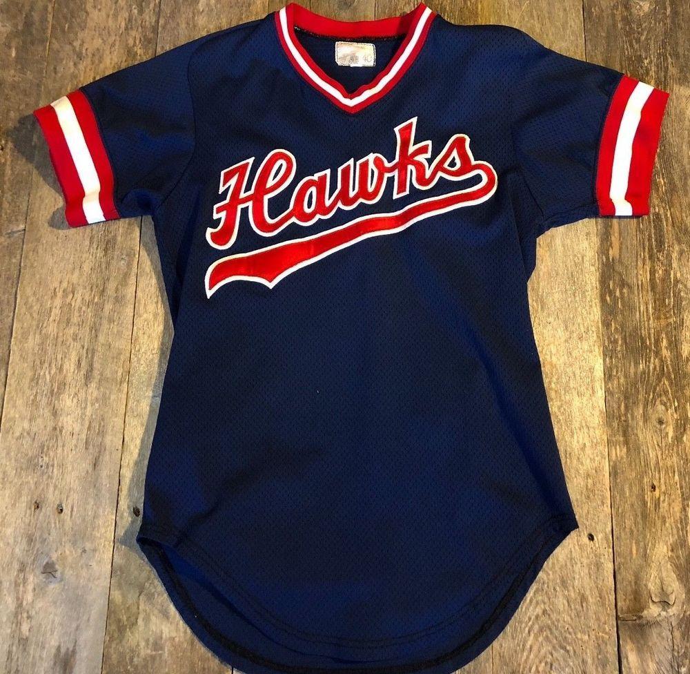online retailer 11404 e4f46 Vtg 90 s Boise Hawks Game Worn Minor League Baseball Jersey ...