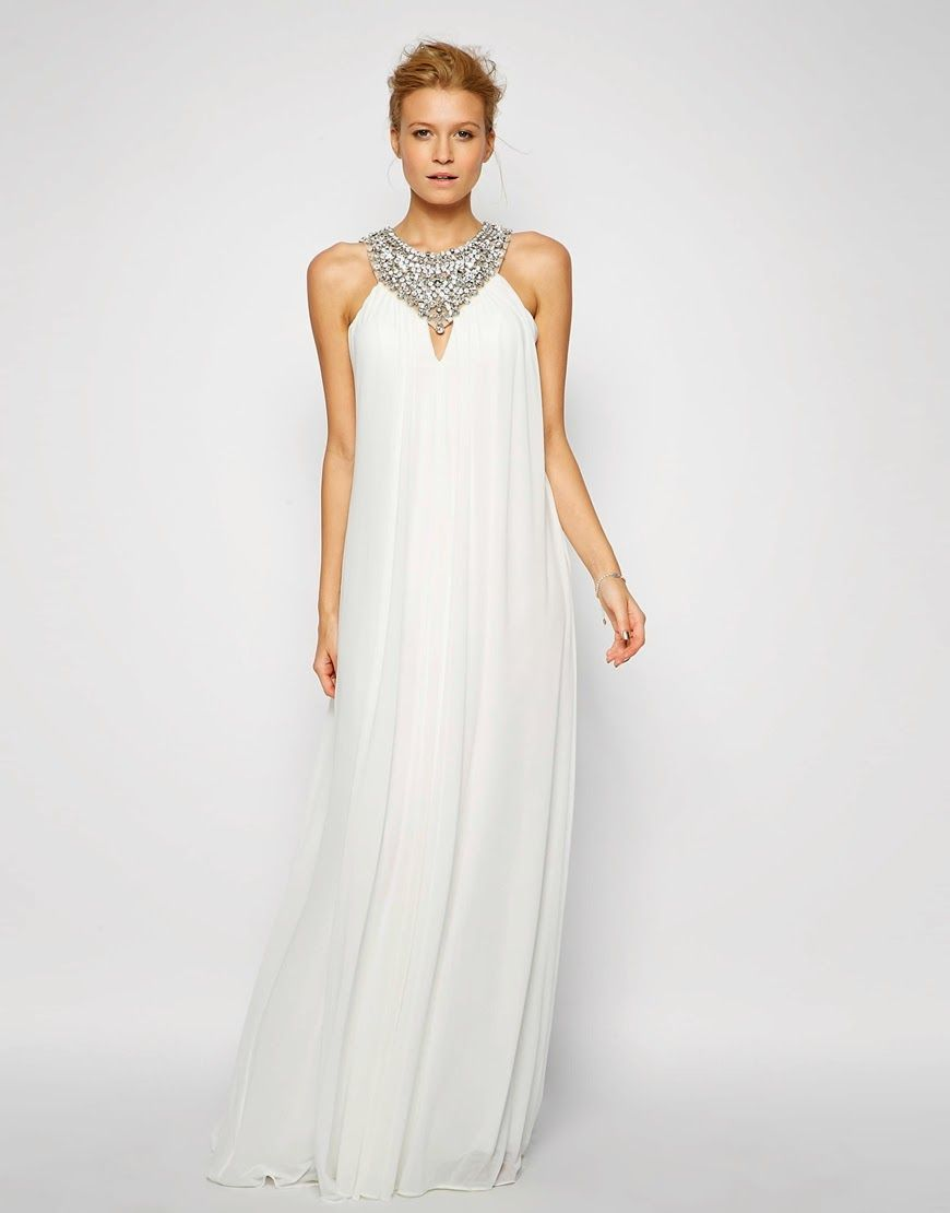 Patrón gratis: vestido escote halter   ganchillo   Pinterest ...