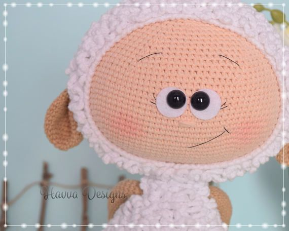 Bonnie With Sheep Costume - Havva Designs CROCHET PATTERN / Amigurumi Tutorial #sheepcostume
