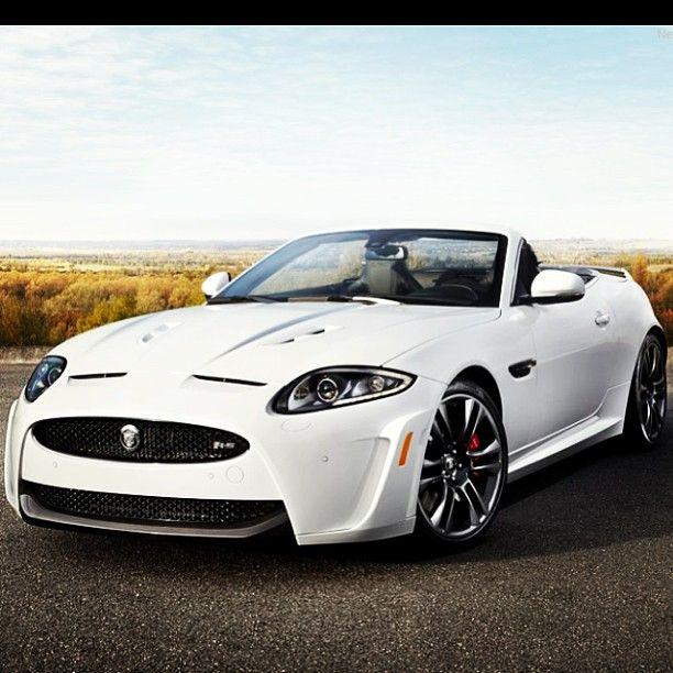 Jaguar Auto: Beautiful White 2013 Jaguar XKR-S Convertible