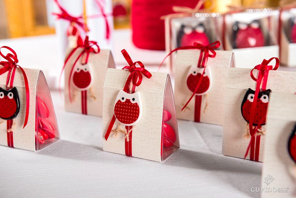 Portaconfetti Con Gufi Per Bomboniere Laurea Di Cupidoandco Idee Di Laurea Decorazione Festa Di Laurea Laurea Fai Da Te