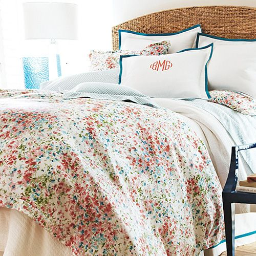 Latest Bedroom Sets Bedroom Decor Women Bedroom Paint Two Colors Green Soccer Bedrooms For Girls: Peacock Alley Eloise Bedding Collection. Love The Colors
