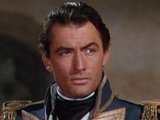 gregory PECK captain HORATIO HORNBLOWER movie still poster RARE 24X36