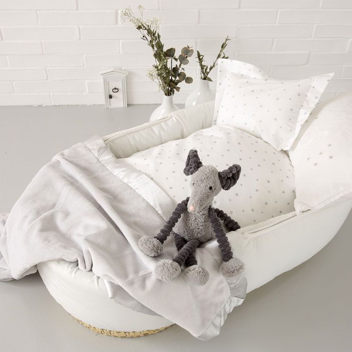 7a8102c90b STAR PRINT PERCALE MOSES BASKET AND MINI COT SET - Collection - New born | Zara  Home United States of America