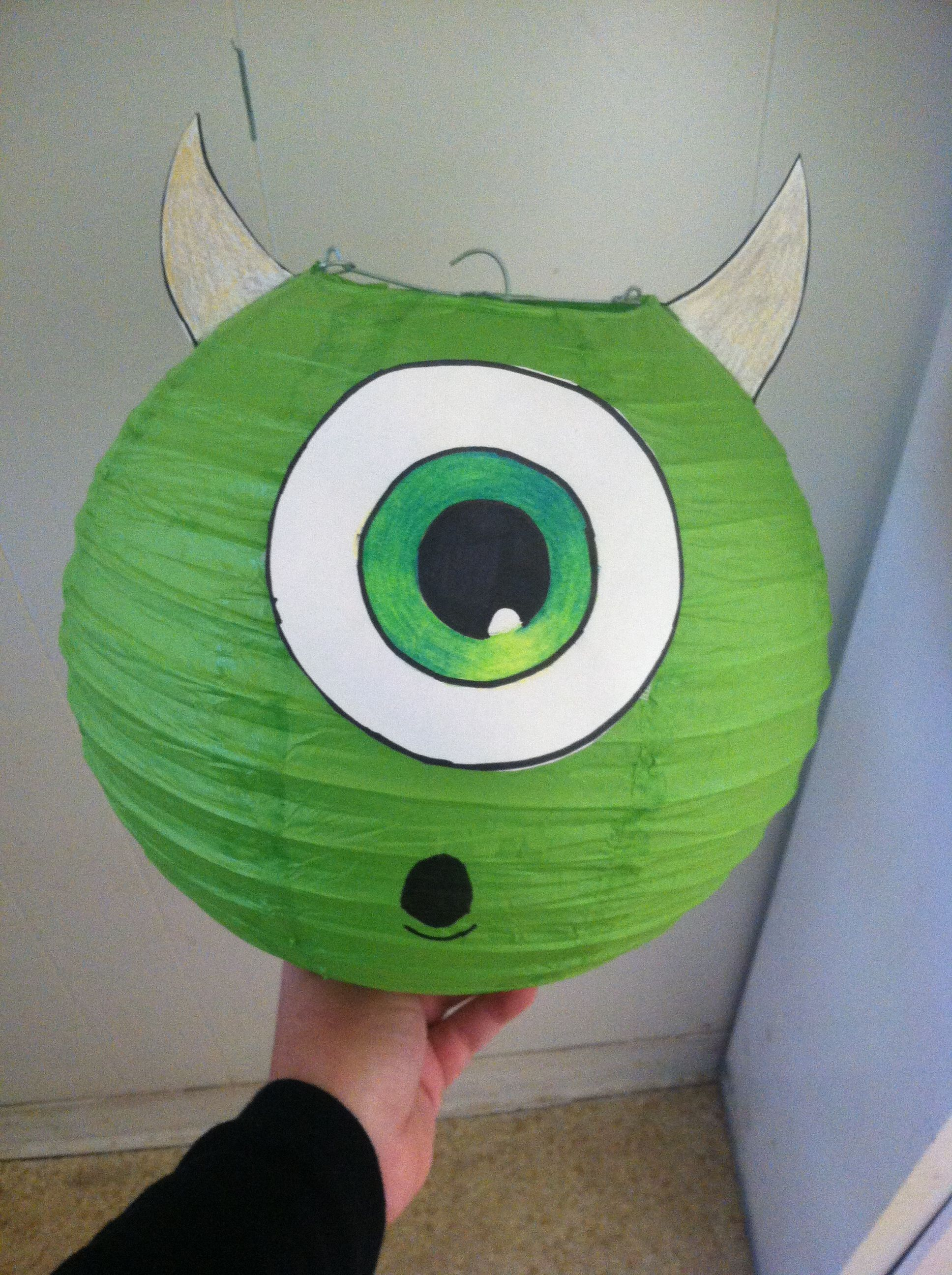 Monster Inc Baby Shower Decorations Diy Monsters Inc Birthday Decorations I Have Some Of These Green