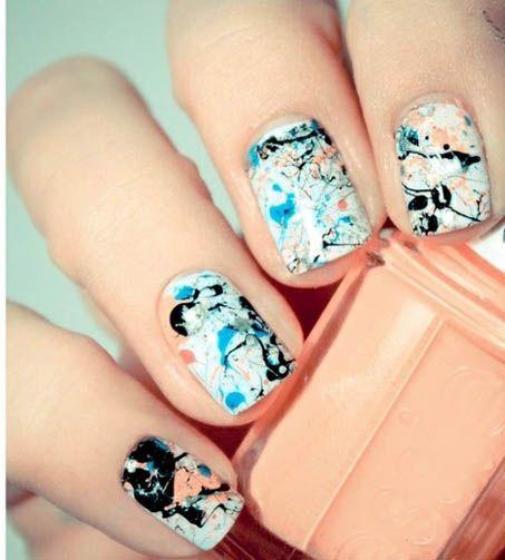 Splash nails!