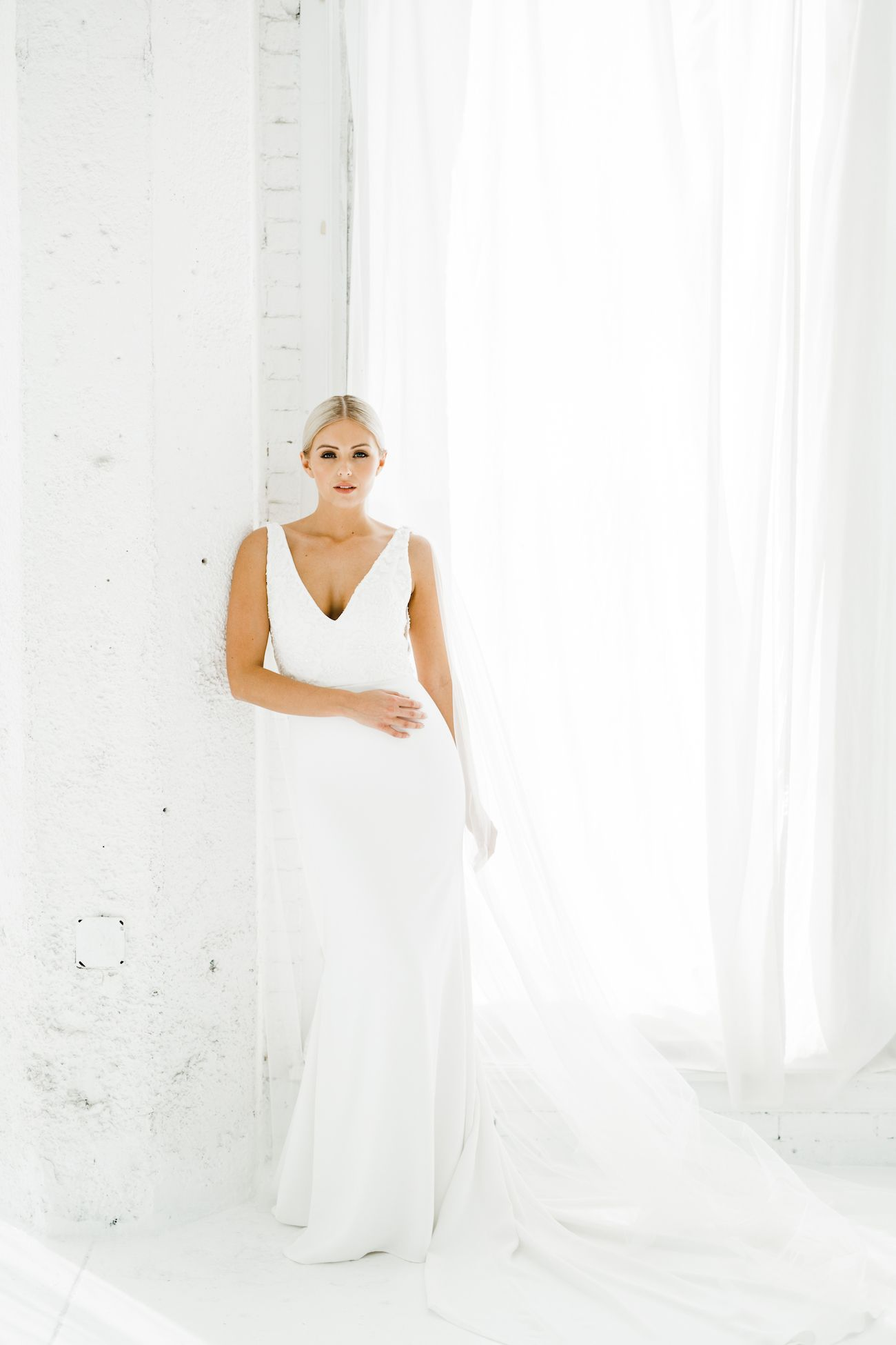 Maven Tulle Wings Alyssa Kristin Chicago Wedding Dress