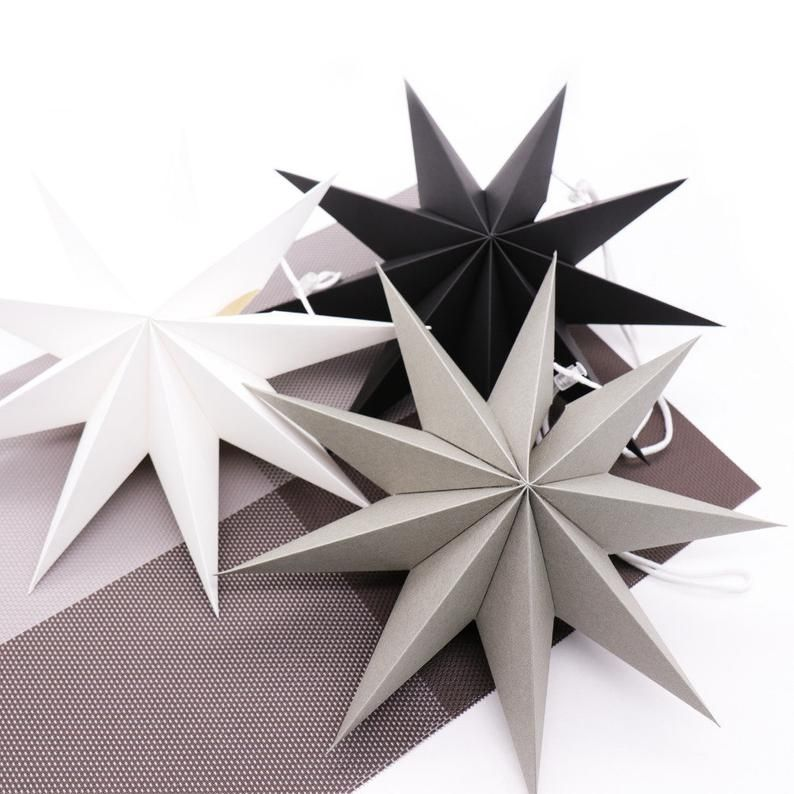 Easy and rich - Origami diamond ornaments. Christmas decoration ...   794x794