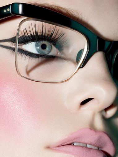 maquiagem-para-quem-usa-oculos-8   Glasses   Pinterest   Maquillage e6a1382f44
