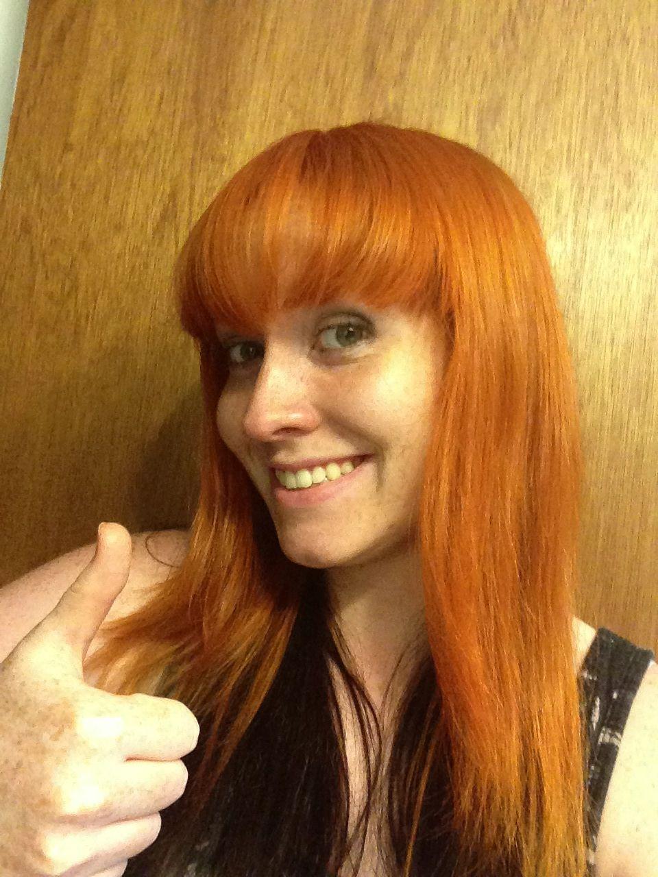 Ion Color Brilliance Orange On Strawberry Blonde Hair I Am