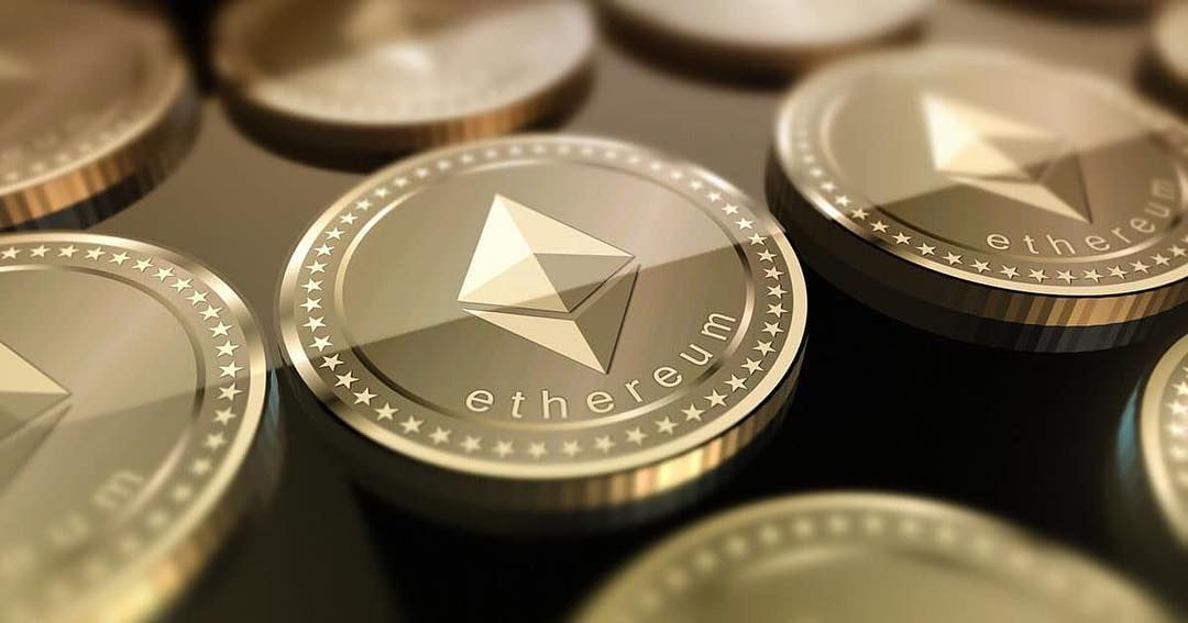 Token representing Ethereum, the second cryptocurrency behind Bitcoin