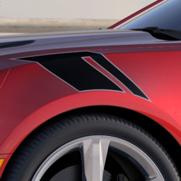 2016 Camaro Fender Hash Marks Decal Stripe Package Can Be Added To The Front Fenders Of Your Accentuate Vehicle S Ful