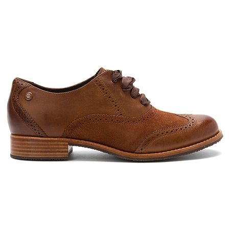 Sebago Claremont Brogue | Women's - Cinnamon/Bronze