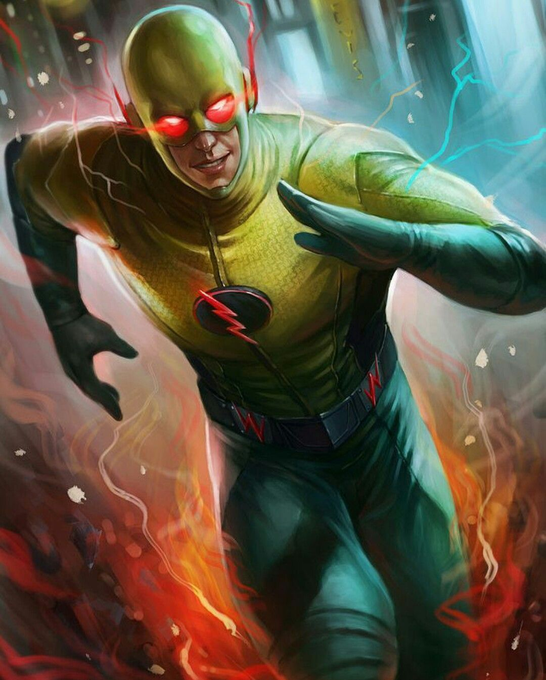 The Reverse Flash From Cw The Flash Reverse Flash Flash Comics