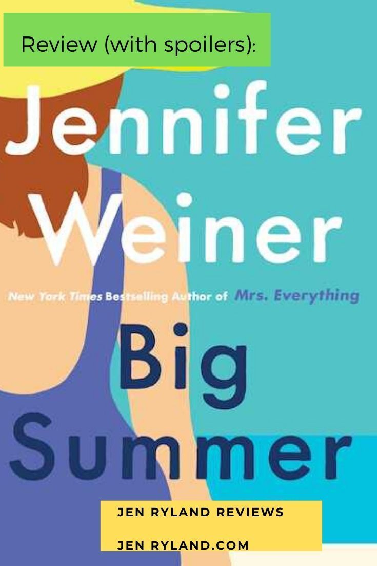 Did you read Big Summer and are dying to discuss spoilers? Come over to my secret page for readers who've finished Big Summer and what to talk spoilers!