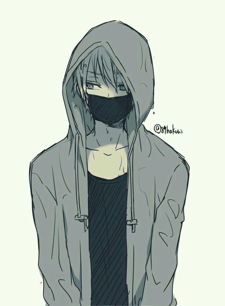 Emo Sai Anime Boy Sketch Cool Anime Guys Anime Hoodie