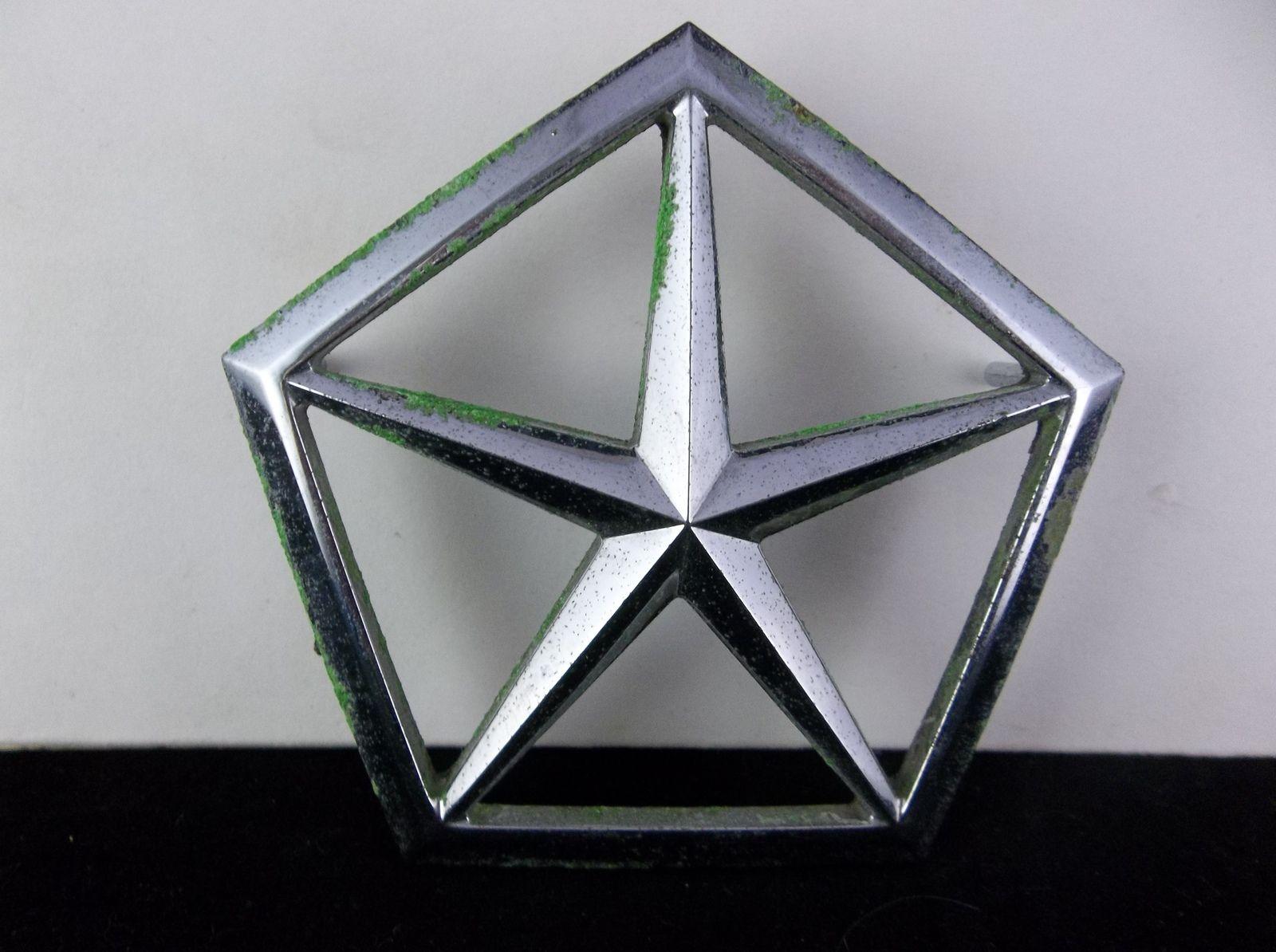 19871993 Chrysler Lebaron Pentastar Trunk Emblem OEM