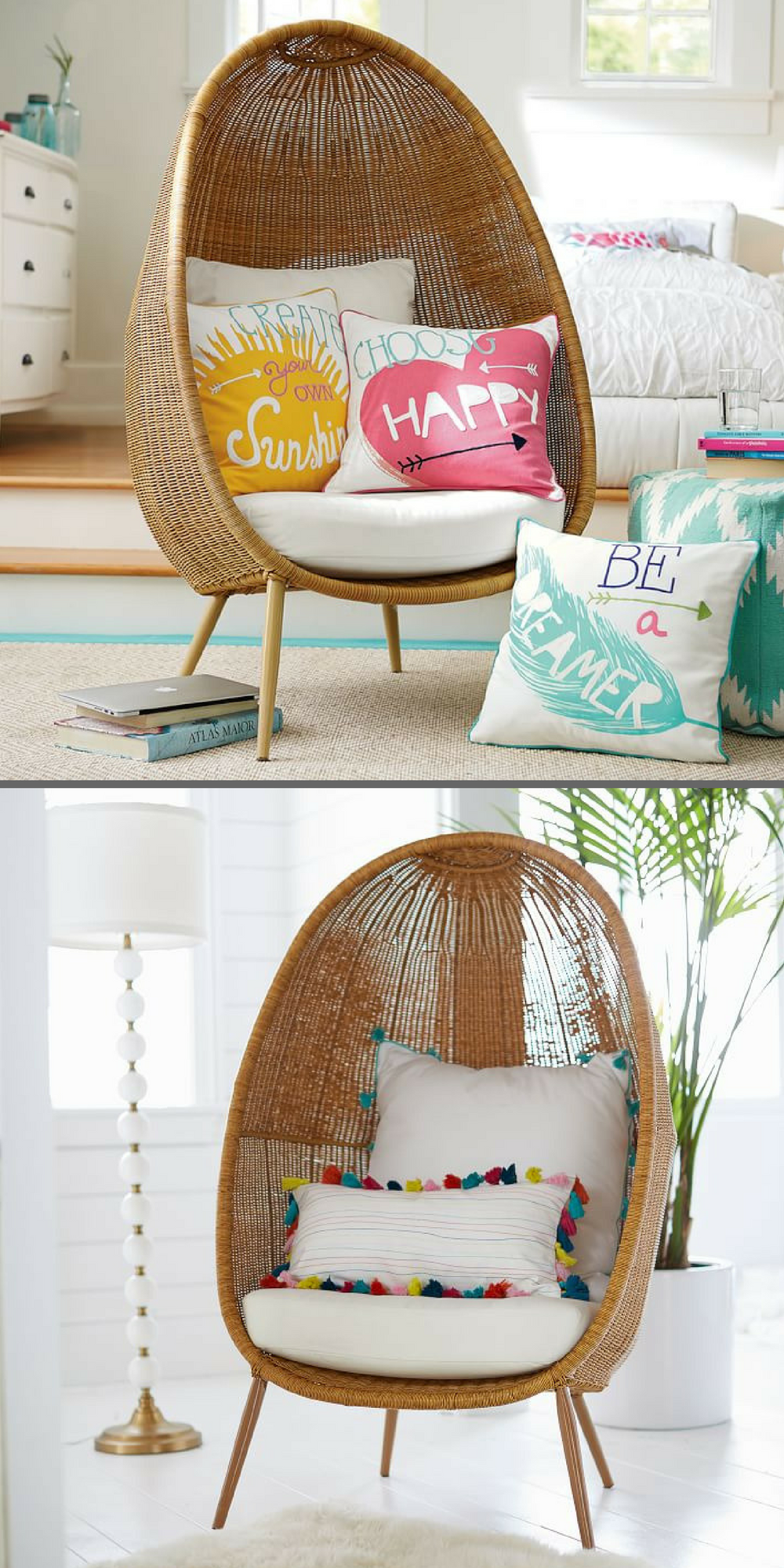 Cool Loooove This Woven Egg Chair Perfect For A Kids Room Or Machost Co Dining Chair Design Ideas Machostcouk