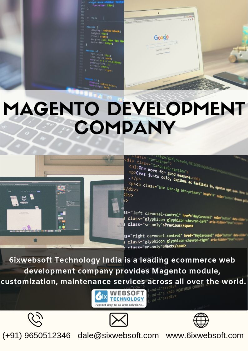 Looking For Magento Development Company In India At 6ixwebsoft Technology We Ve Expert Magento Developers For Magento Magento Fun Website Design Development