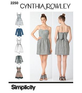 Simplicity Pattern 2250R5-Cynthia Rowley  | Joann.com