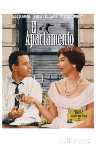 The Apartment, Spanish Movie Poster, 1960 Prints at AllPosters.com