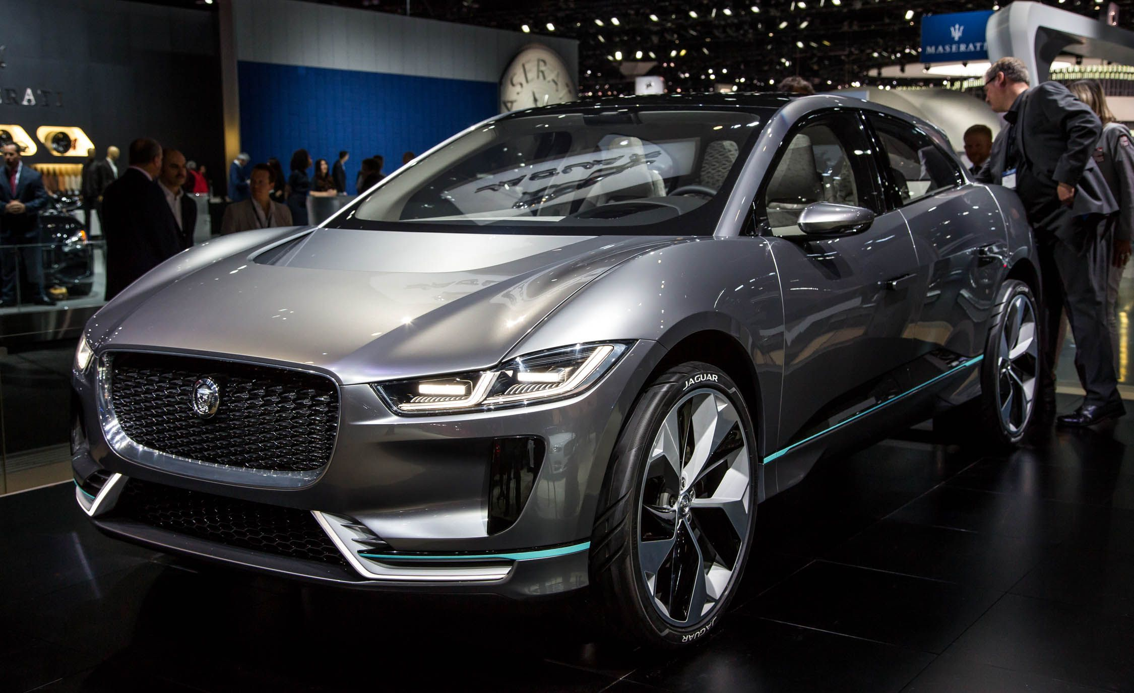 Jaguar I Pace Is An Electric Car And Produced By British Automotive Company Land