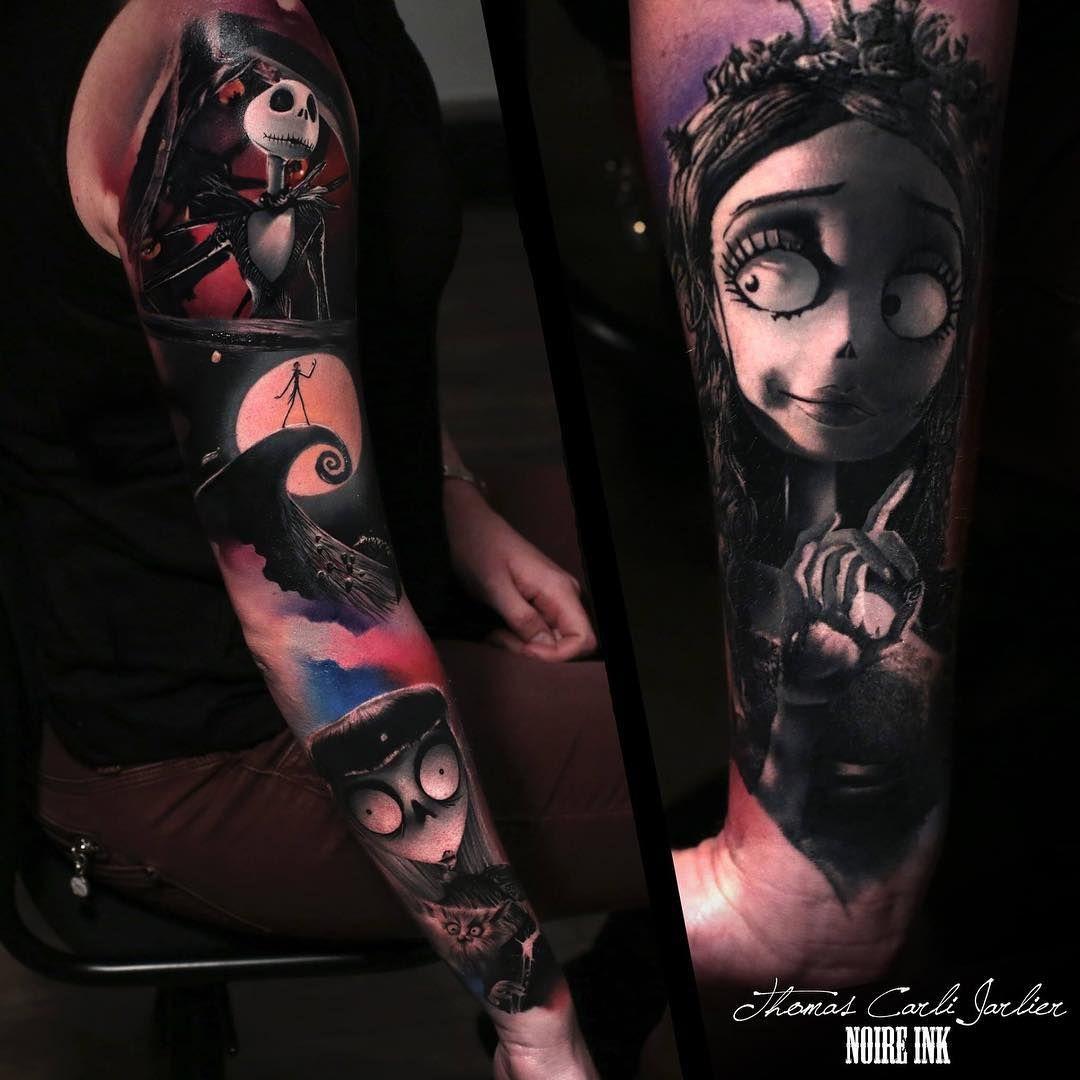 The Nightmare Before Christmas tattoo by Thomas Carli J | Best ...