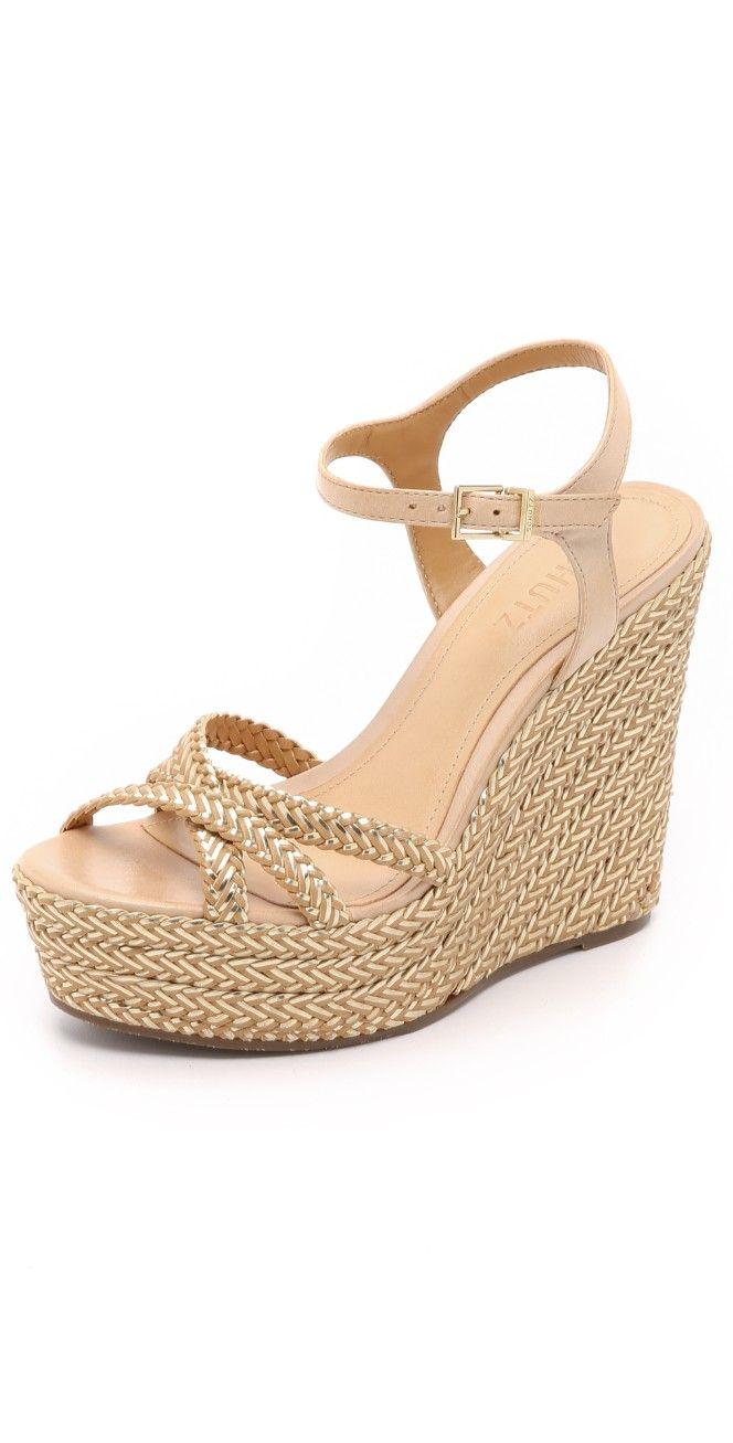 59596afef97 Schutz Monicah Wedge Sandals